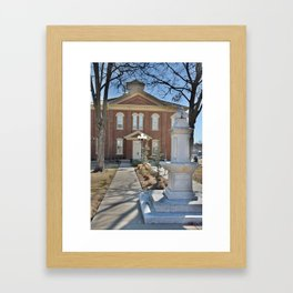 Cherokee Nation - Capitol in Tahlequah, No. 2 of 3 Framed Art Print