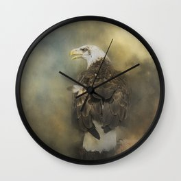 Eagle's Rest Stop Wall Clock