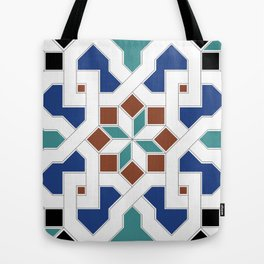 Geometric Pattern - Oriental Design Pt. 7 Tote Bag