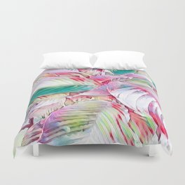 Pastel Botanicals Duvet Cover
