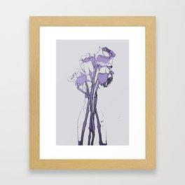 Rose III Hue Framed Art Print
