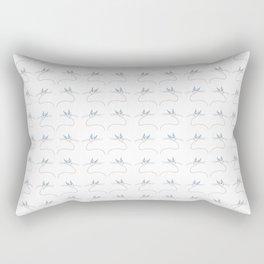 cat 2-pet, whikers,pussycat,felid,felines,kitty,kitten,cute,girly Rectangular Pillow