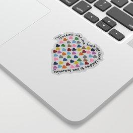 Hearts Heart Teacher Sticker