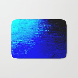 Moon Casting in to the Sea Bath Mat