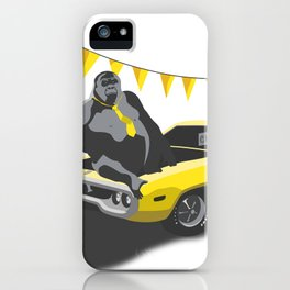 Monkey Business iPhone Case