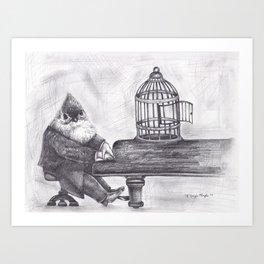 Flight by Song Art Print