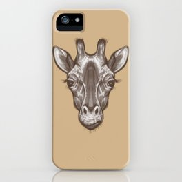 Icons of Africa - Giraffe iPhone Case