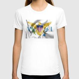 United States Virgin Islands Flag T-shirt