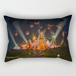 Circus from Vincent the Artist Rectangular Pillow