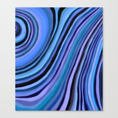 Mineralicious~Blue Agate Canvas Print