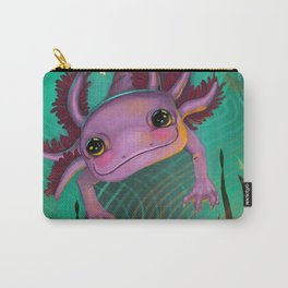 The Axolotl, of The Subterranean Depths, finds an Ancient Idol. Carry-All Pouch
