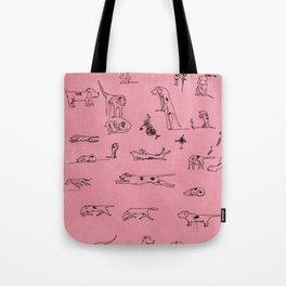 Ugly Hounds-Sketchbook Tote Bag