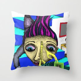 Missed a Step Throw Pillow