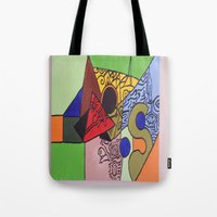 wild things Tote Bags featuring Wild things by tmens