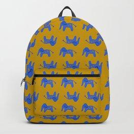Blue Elephant Backpack