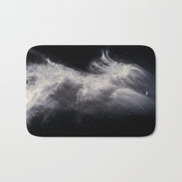 Moon and Clouds Bath Mat