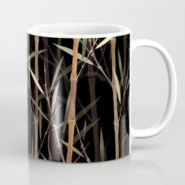 Dry Bamboo Forest at Night Coffee Mug