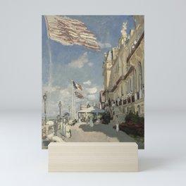 Claude Monet - Hôtel des roches noires Mini Art Print