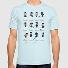 Cleveland Bobbleheads Light Blue SMALL Mens Fitted Tee