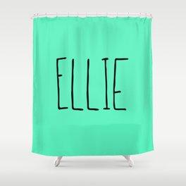 Ellie - Mint Green Shower Curtain