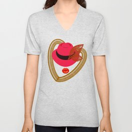 The colors for the season Unisex V-Neck