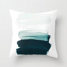brushstrokes 13 Throw Pillow