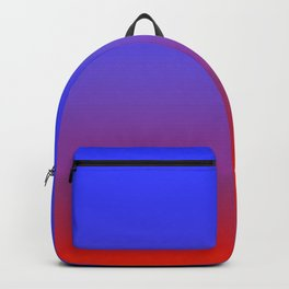 Blue Fire Gradient Backpack