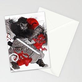 Shoki & Oni Stationery Cards