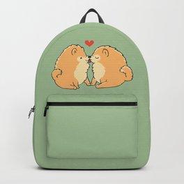 Pomeranian Kisses Backpack