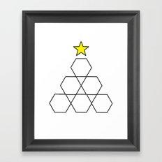 Hex, it's Christmas! Framed Art Print