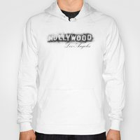 hollywood Hoodies featuring Hollywood by KitschyPopShop