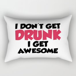 Get Awesome Funny Quote Rectangular Pillow