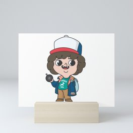 dustin eleven Mini Art Print
