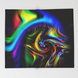 Abstract Perfection 19 Throw Blanket