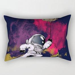minimalist Astronaut Rectangular Pillow