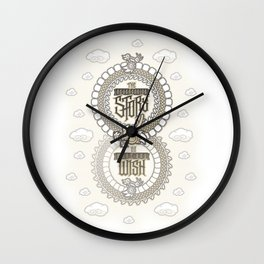 Do What You Wish (The NeverEnding Story) Wall Clock