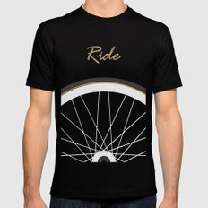 Ride SMALL Mens Fitted Tee Black