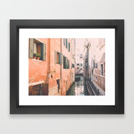 Venice I Framed Art Print