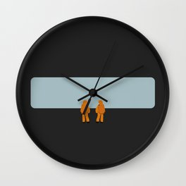The Day They Arrived Wall Clock