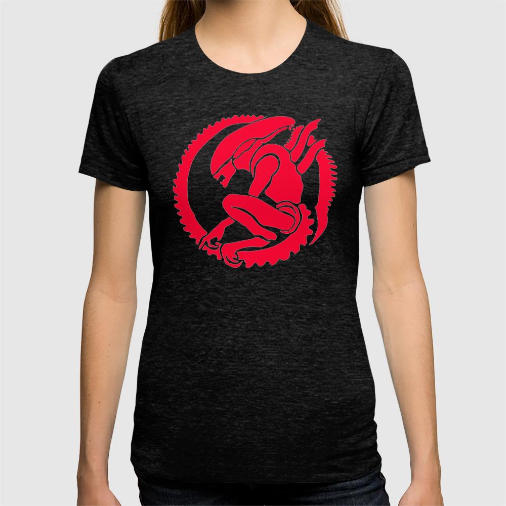 d3306cf6 ALIEN PREDATOR T-SHIRT - MOVIE INSPIRED - FANTASY - HORROR - FICTION - SPACE  T-shirt by arul85   Society6