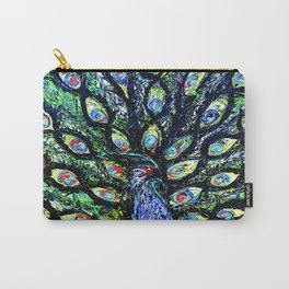 Peacock Feathers (25) Carry-All Pouch