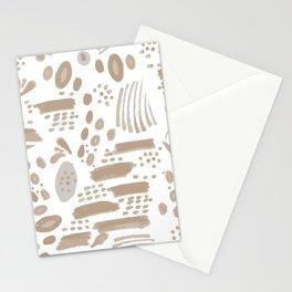 Brushstroke Scatter Stationery Cards