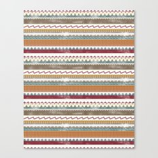 AZTEC STRIPES Canvas Print