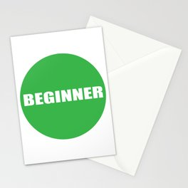 Text Beginner Stationery Cards