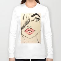 ruby Long Sleeve T-shirts featuring Ruby by Art By JuJu