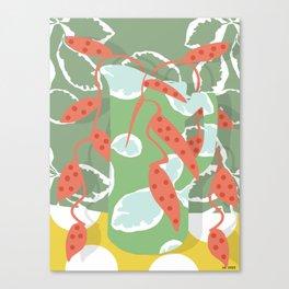 ceramic jar Canvas Print