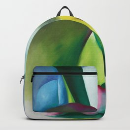 The Colors and Sights of Spring Portrait Painting by Georgia O'Keeffe Backpack
