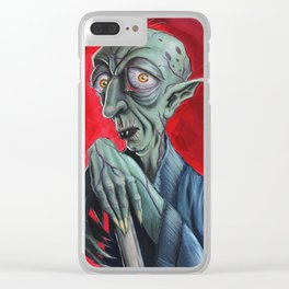 Nosferatu Clear iPhone Case