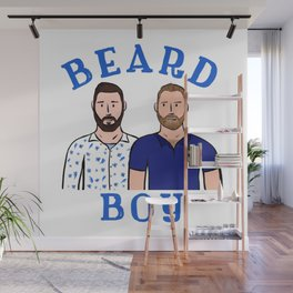 Beard Boy: Karl & Thomas Wall Mural