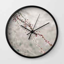 Niagara Ice Storm Wall Clock